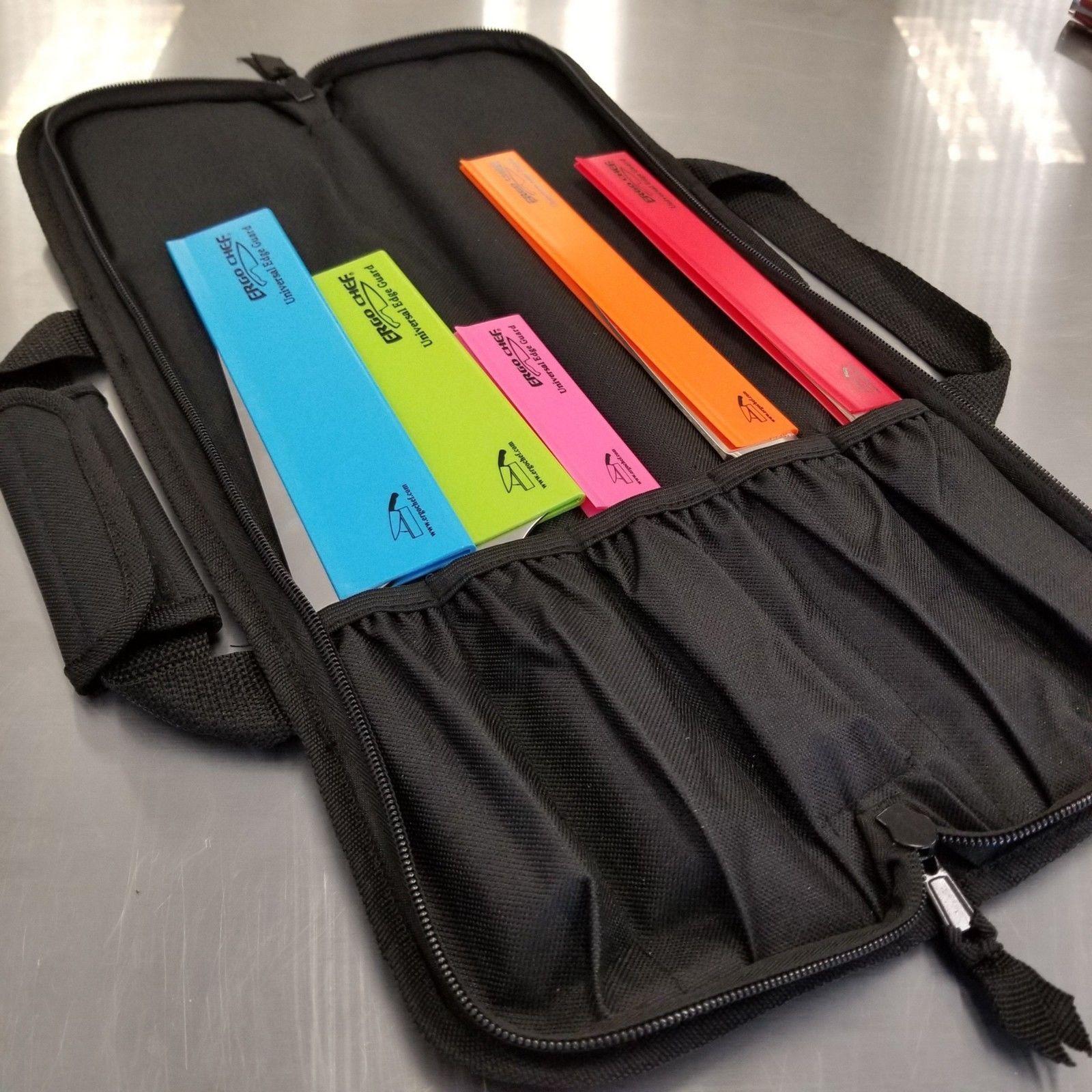 5 POCKET CHEF Knife Roll Bag Case knife bag chef bag knife roll black (F2)   10.95 End Date  2019-01-30 17 56 31 Original price   19.95   ... f26f7d27d2dab