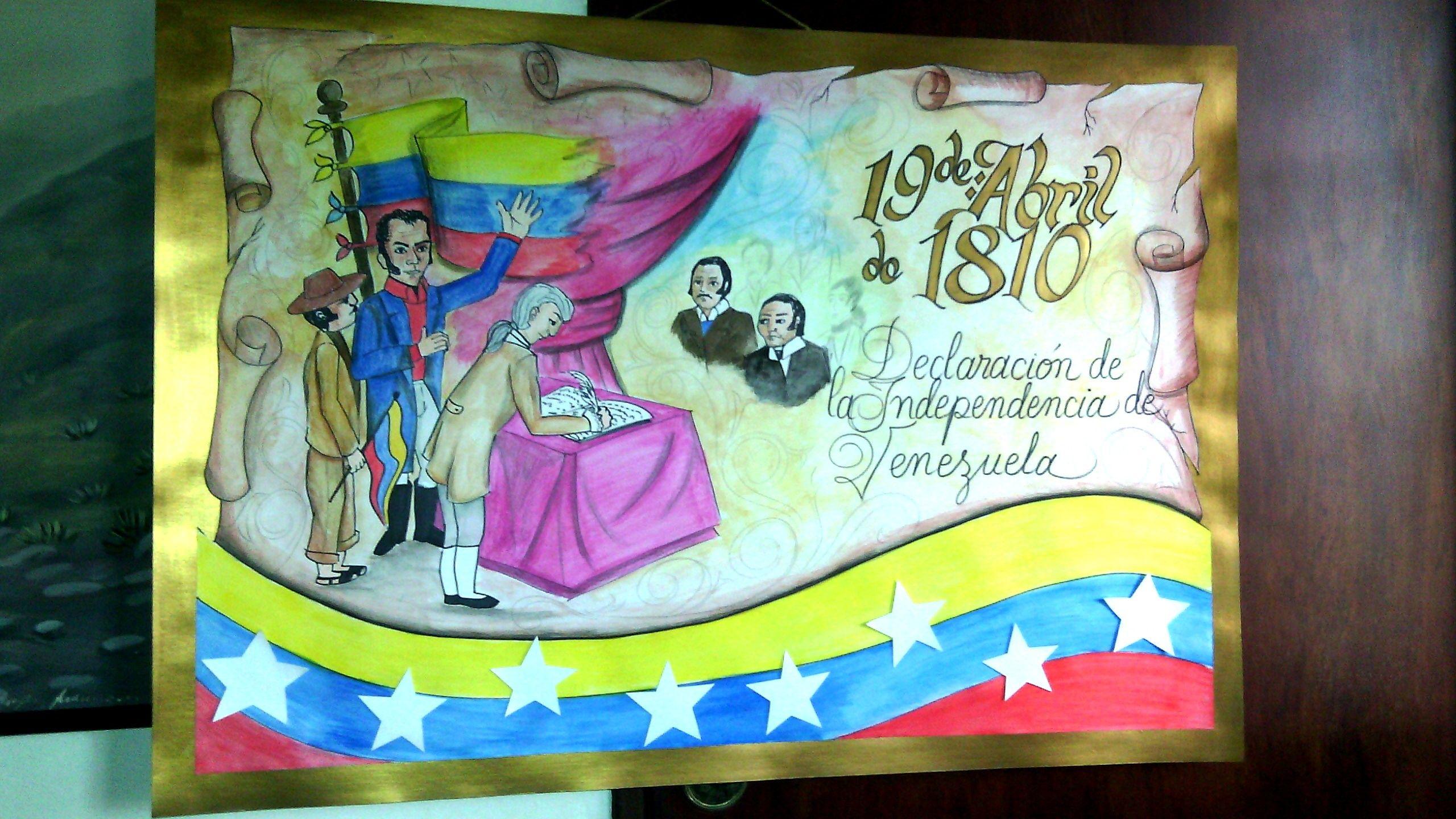 Cartelera Escolar 19 De Abril De 1810 Primer Paso