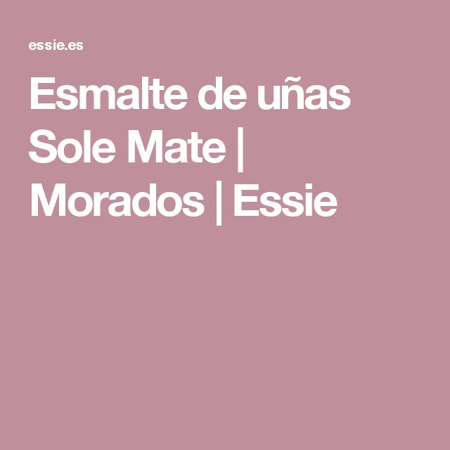 Asombroso Essie Mate Esmalte De Uñas Ornamento - Ideas de Diseño de ...