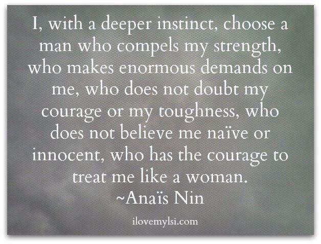 Anais Nin -- woman