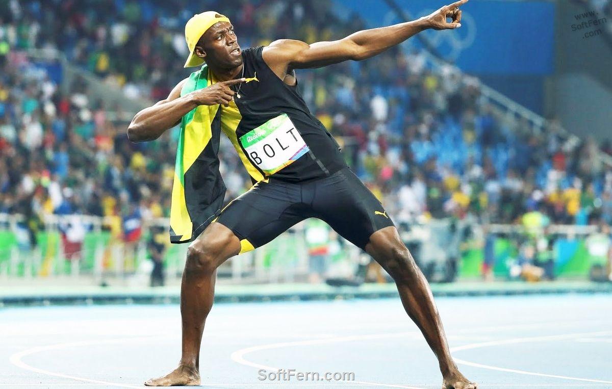 Olympic Games Rio 2016. Men, 100 m. Final. Winner - Usain ...