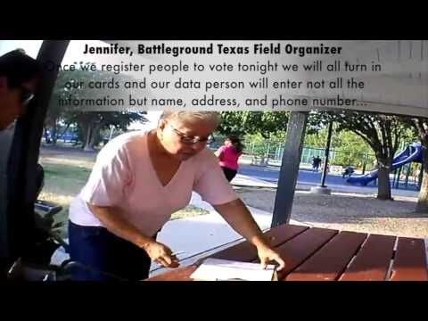 Breaking New Video Battleground Texas Illegally Copying Voter