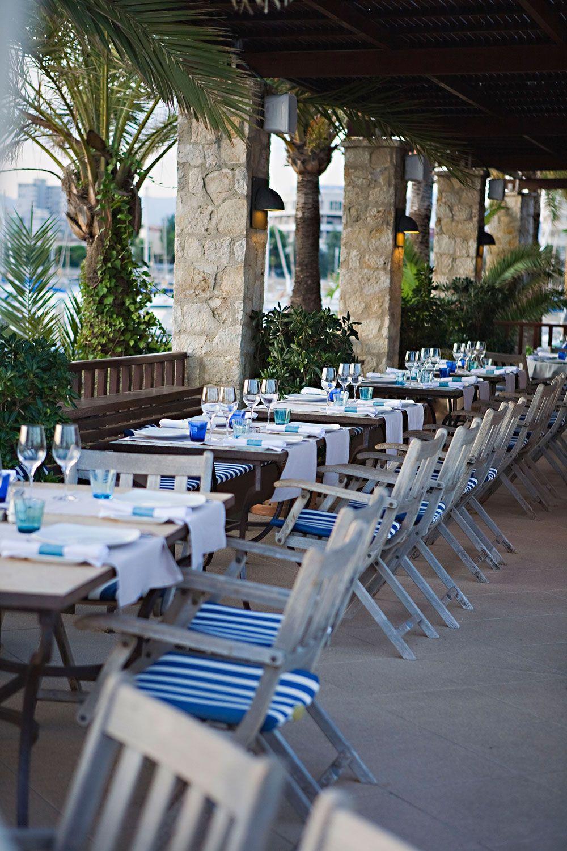 Restaurant Bar Portixol Hotel Y Restaurante Terraces