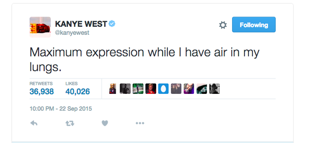 24 Of Kanye West S Most Iconic Tweets From 2015 Kanye Kanye West Kanye West Adidas