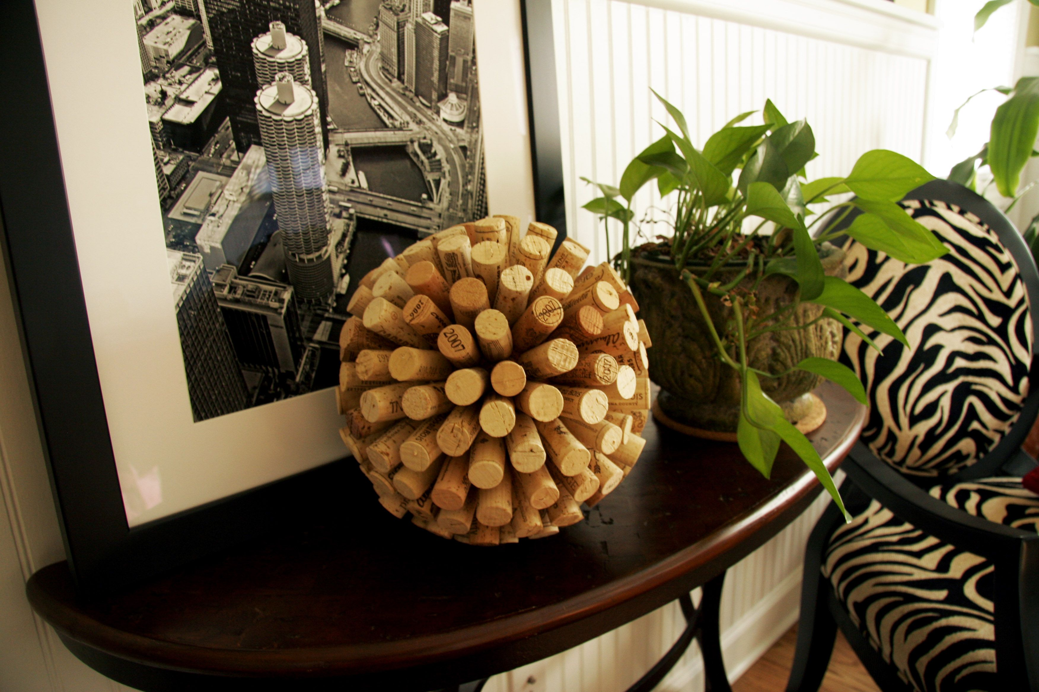 Tutorial for wine cork balls.  Kinda cute and easy enough.
