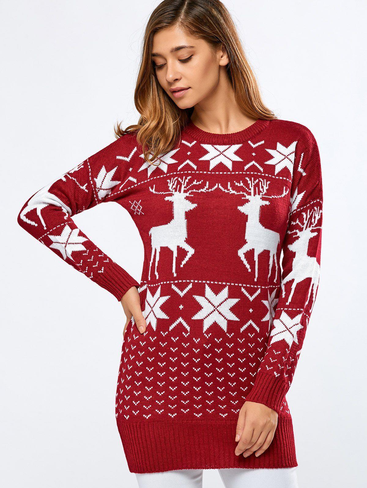 38++ Christmas sweater dress ideas