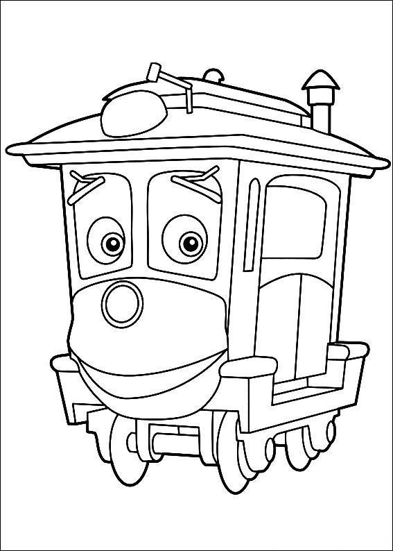 Chuggington Train Coloring Pages | Chuggington Coloring Pages ...
