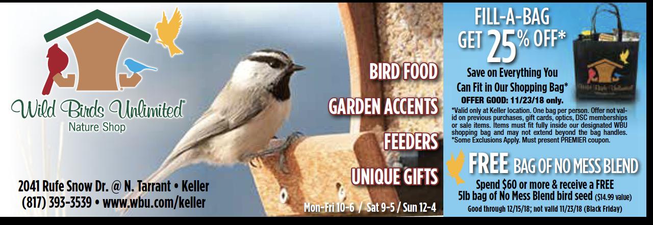 Wild Birds Unlimited Wild Birds Unlimited Wild Birds Tarrant County