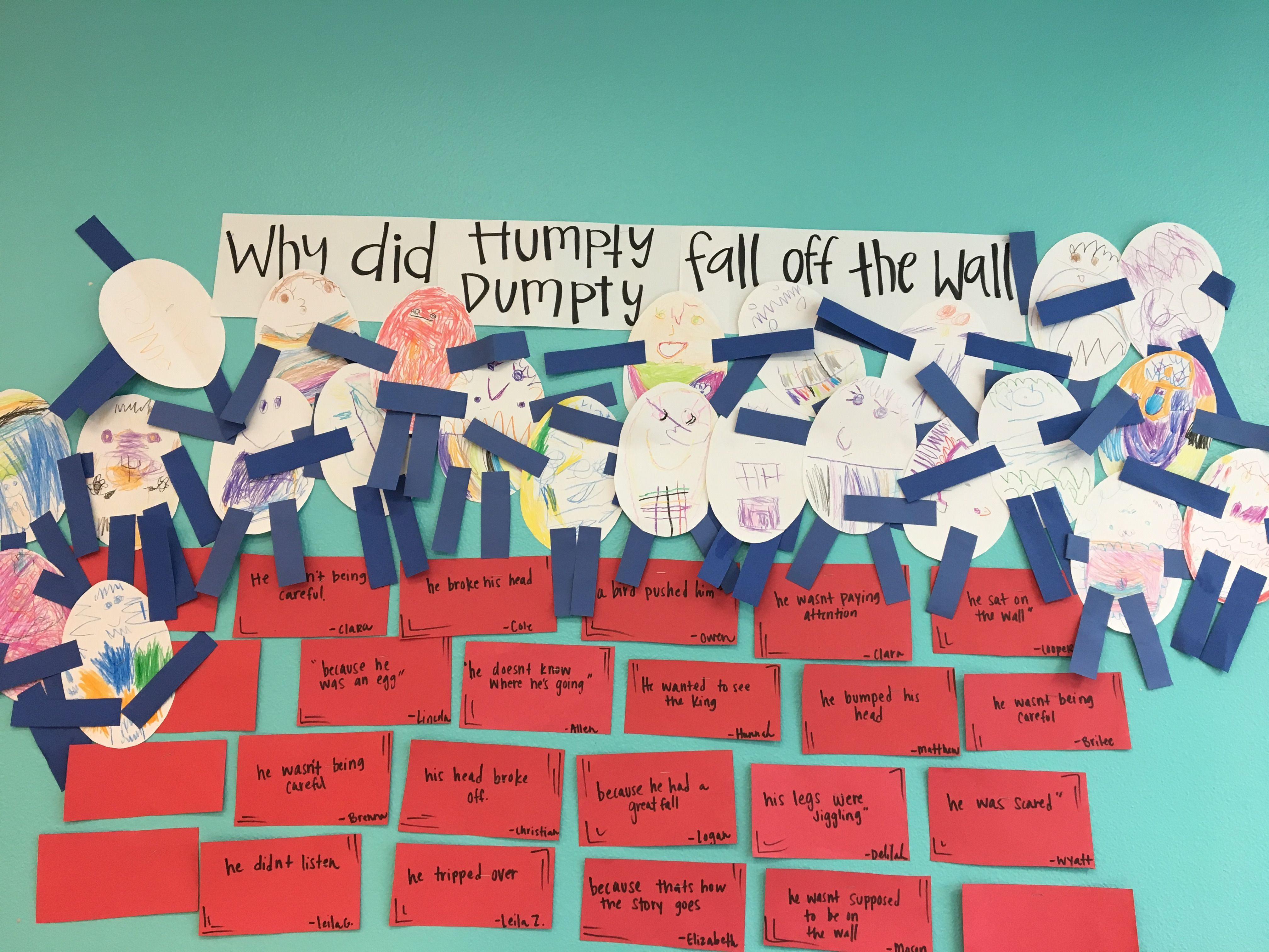 Humpty Dumpty Children S Fairy Tale Craft Activity