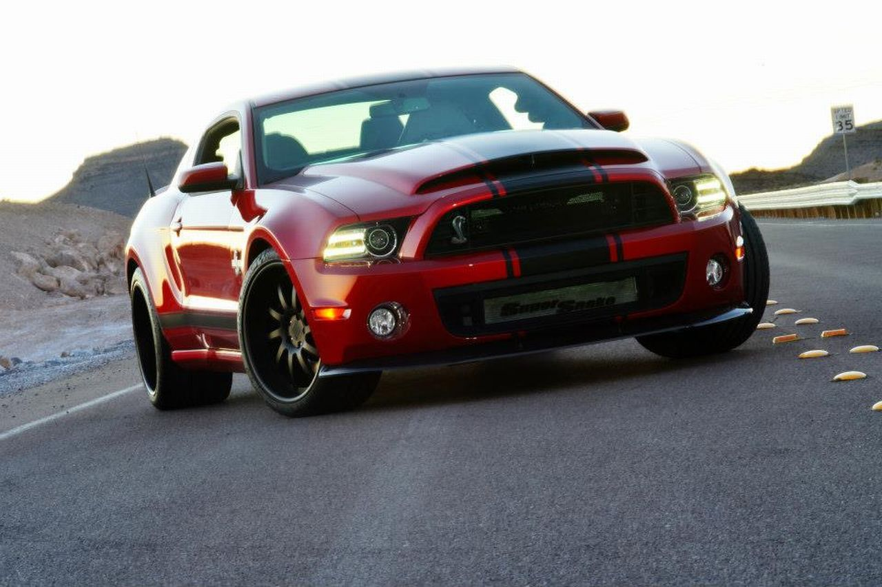 The 2013 shelby super snake wide body debuts at the detroit auto show