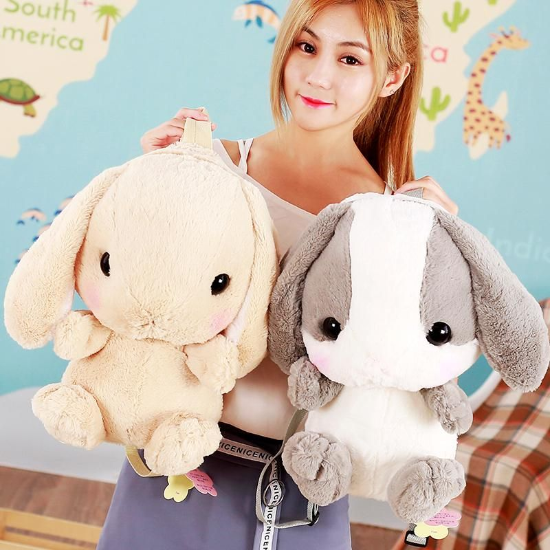Bunny Plush Backpack #bunnyplush