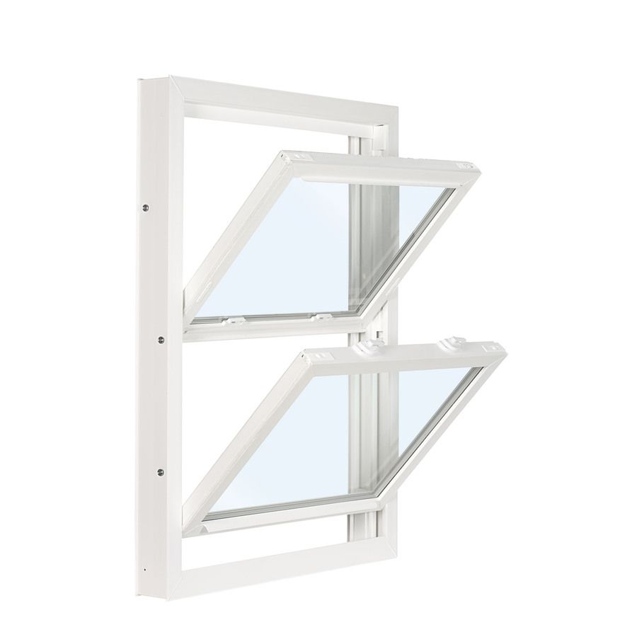 Reliabilt 3201 Vinyl Replacement White Exterior Double Hung Window Rough Opening 36 In X 37 75 In Actual 35 75 In X 37 5 In Lowes Com In 2020 Double Hung Windows Double Hung Vinyl Replacement Windows