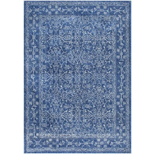 Found It At Wayfair Ca Vintage Pearlene Dark Blue Area Rug