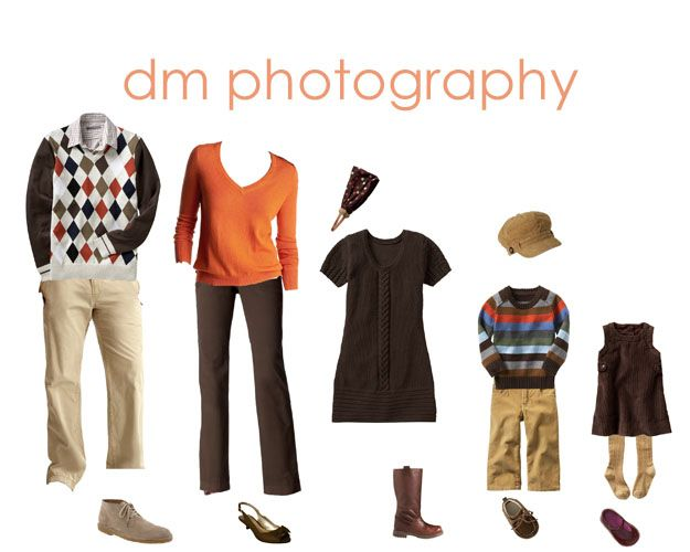 Family portrait clothing ideas mcelhaugh photography Fall family photo clothing ideas