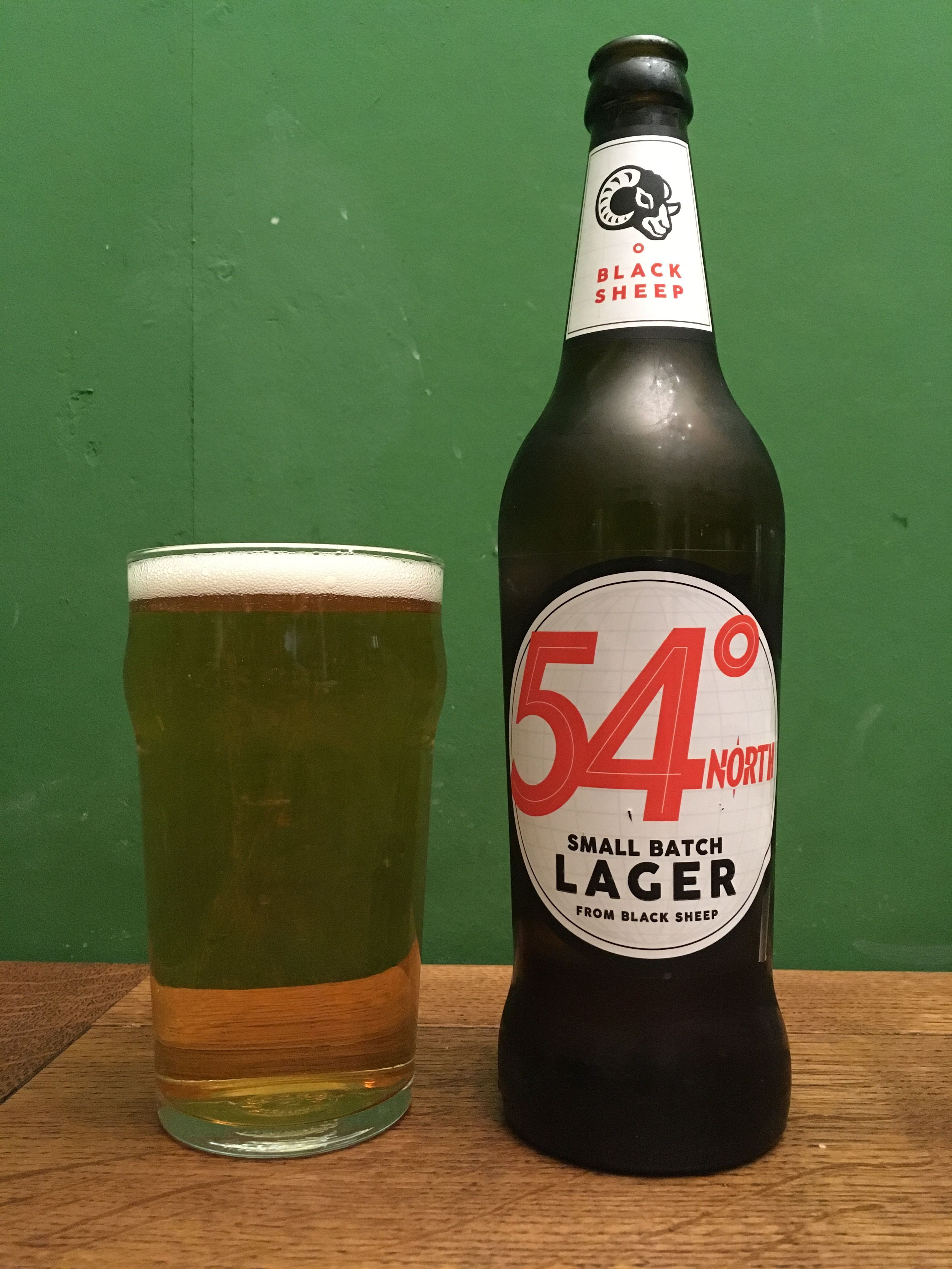 54 Degrees North By Black Sheep Brewery Inm Uk Very Light Beer And Quite Sweet Almost Like A Shandy Very Easy To Drink