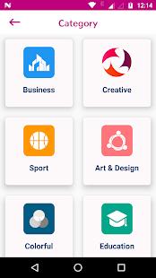 Best Business Logo Design App:  LogoMaker ,Design