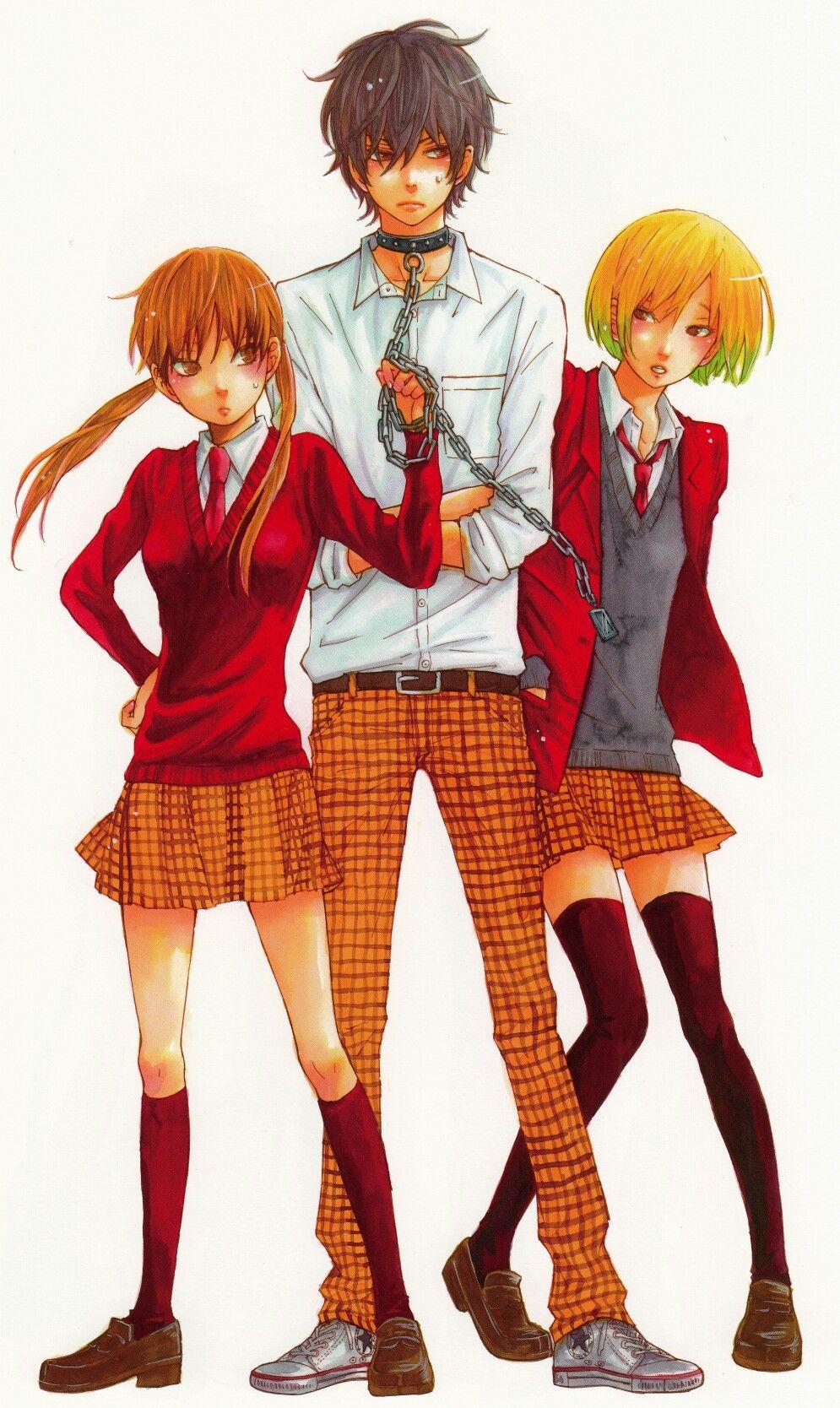 My little monster || Shizuku, Haru and Iyo
