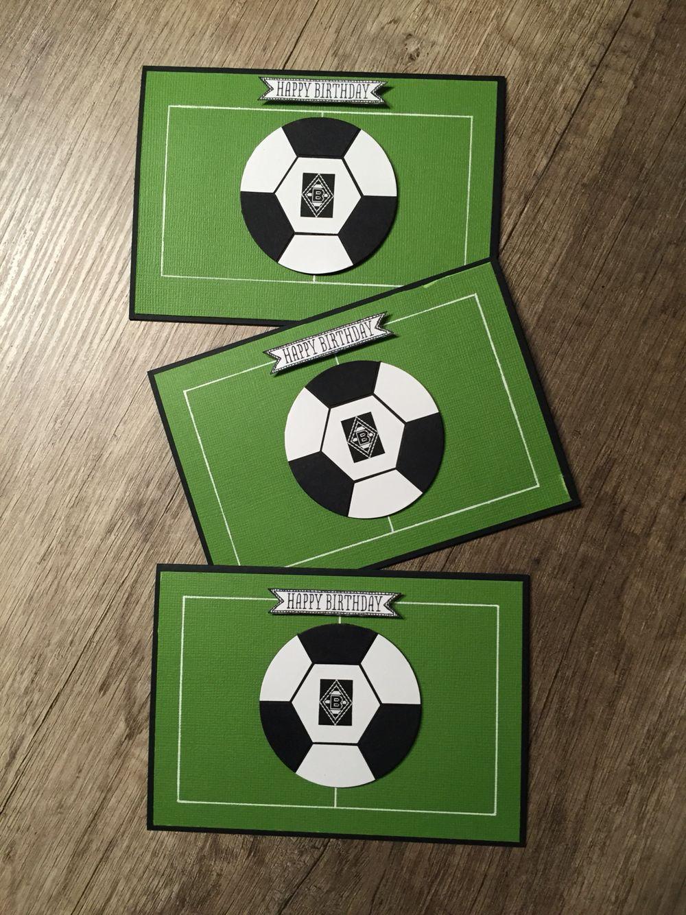 Geburtstag Fussball Borussia Monchengladbach Fussballkarten Karten Fussball Party