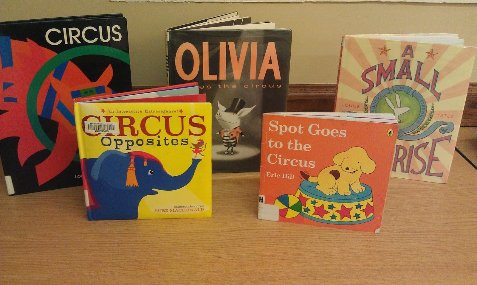 One Little Librarian Preschool Fun Circus