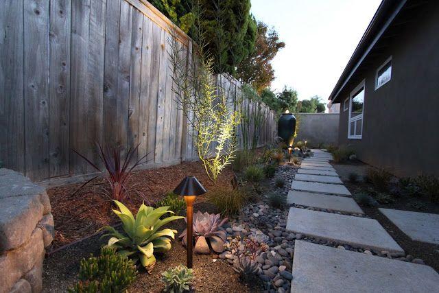 Lighting A Mid Century Modern Landscape Design Modern Landscape