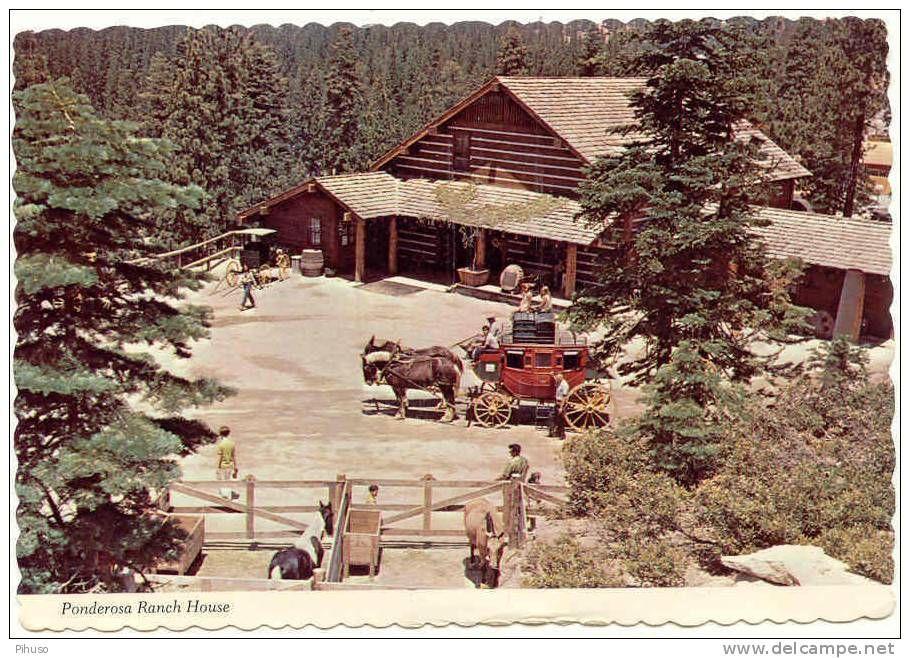 BONANZA : Ponderosa Ranch