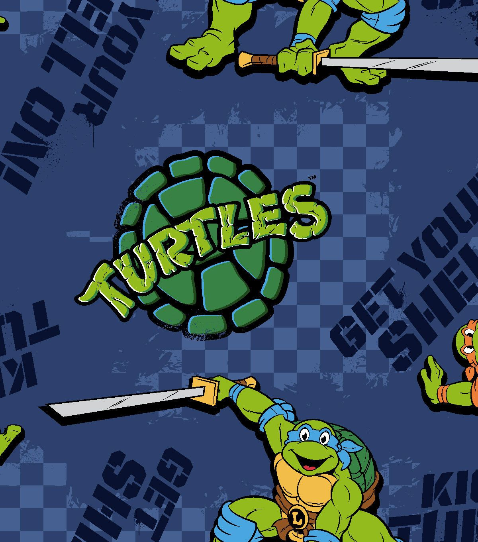Nickelodeon teenage mutant ninja turtles fleece fabric