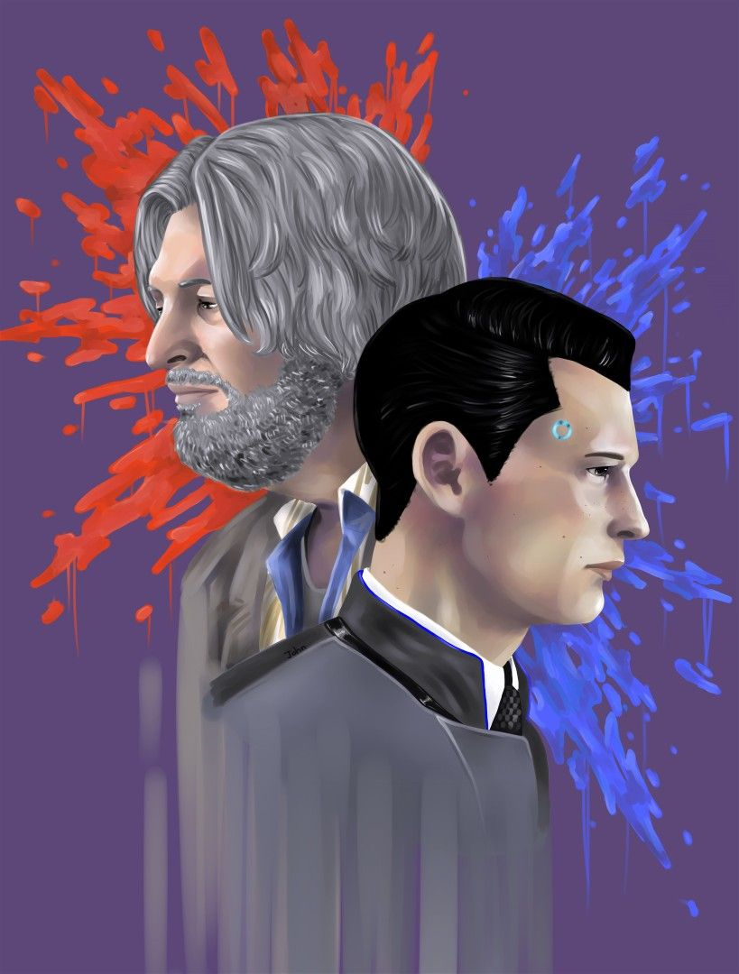 Detroit become human | DBH | Connor and Hank | Detroit Become Human