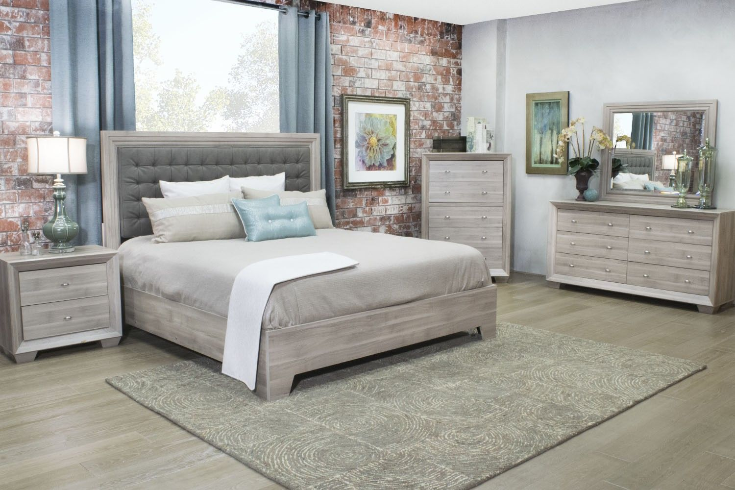 Mor Furniture For Less The Arketipo Birch Bedroom Mor Furniture