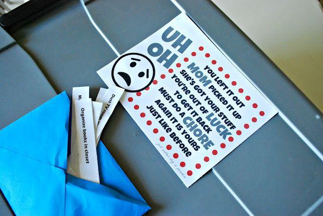 Chores!!!  great ideas!