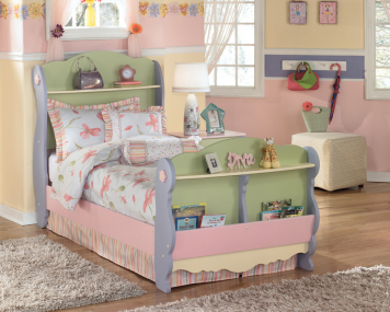 Doll House Twin Sleigh Bed | Ashley | Home Gallery Stores