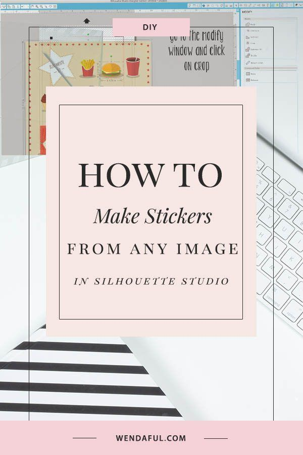 How to Make Stickers from Any Image in Silhouette Studio
