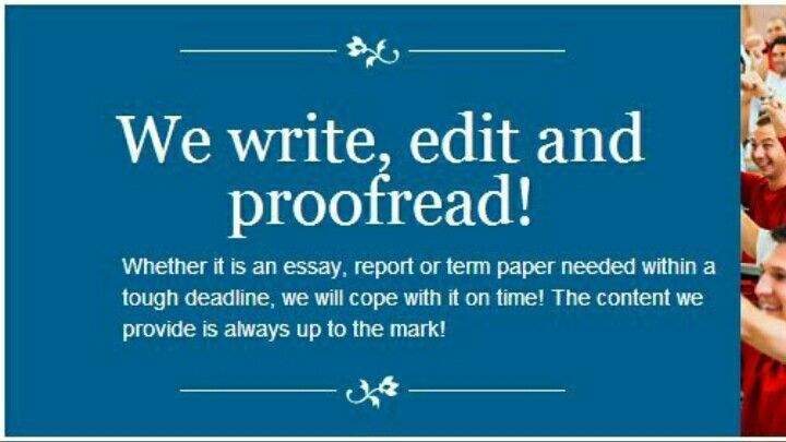 Term paper proofreader