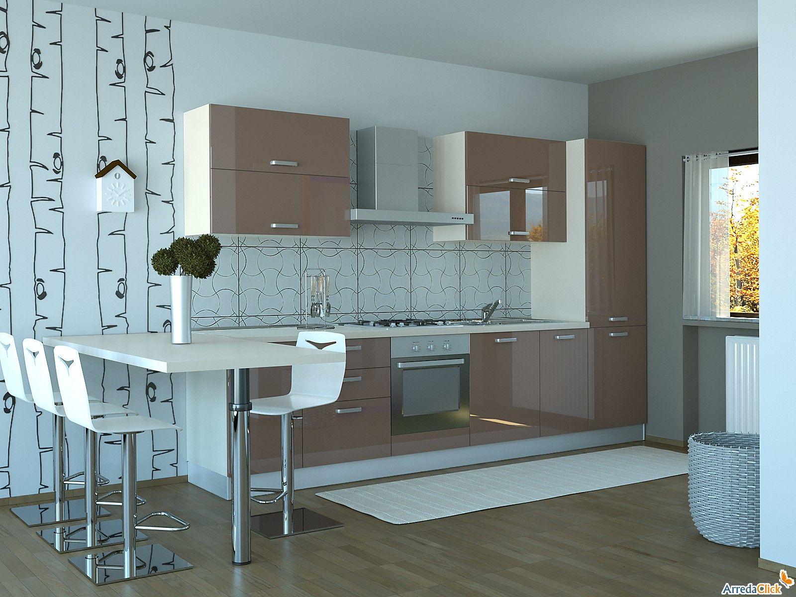 Stunning Progettazione Cucina 3d Contemporary  House