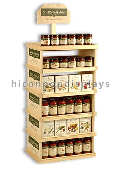 Wood Honey Bee Can Food Display Stand Made In China From Hicon Pop