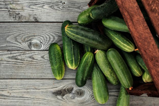 Cucumbers | 28 Vegetarian Sources Of Protein That Will Keep You Feeling Full And Satisfied