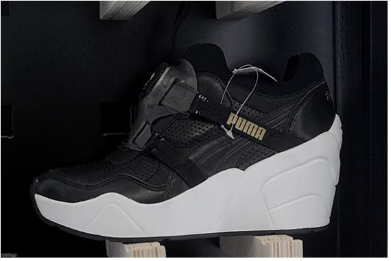 2e5664c7556 PUMA Trinomic Wedge Sneakers. PUMA Trinomic Wedge Sneakers Sophia Chang ...