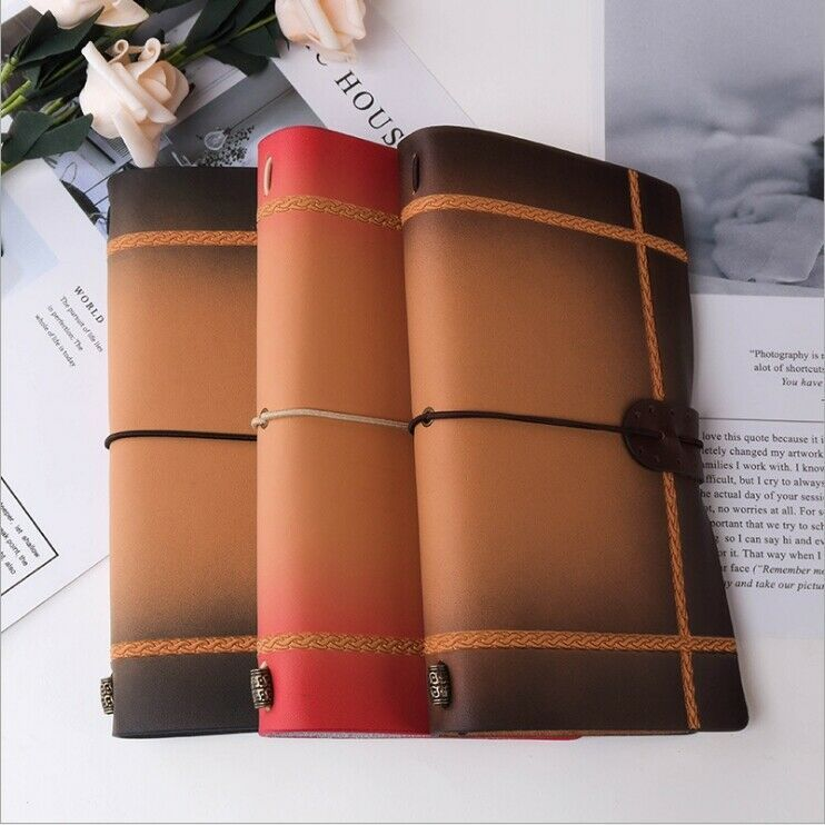 The World 1pc Real Cowhide Soft Leather Journal Diary Travelers Notebook Gift Unbranded Leather Journal Diary Handmade Diary Notebook Gifts