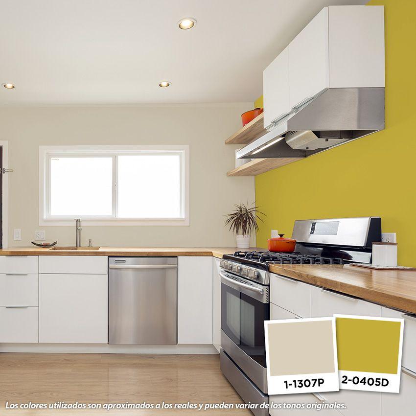 Las tonalidades neutras como el beige son muy vers tiles - Pintura de cocina ...
