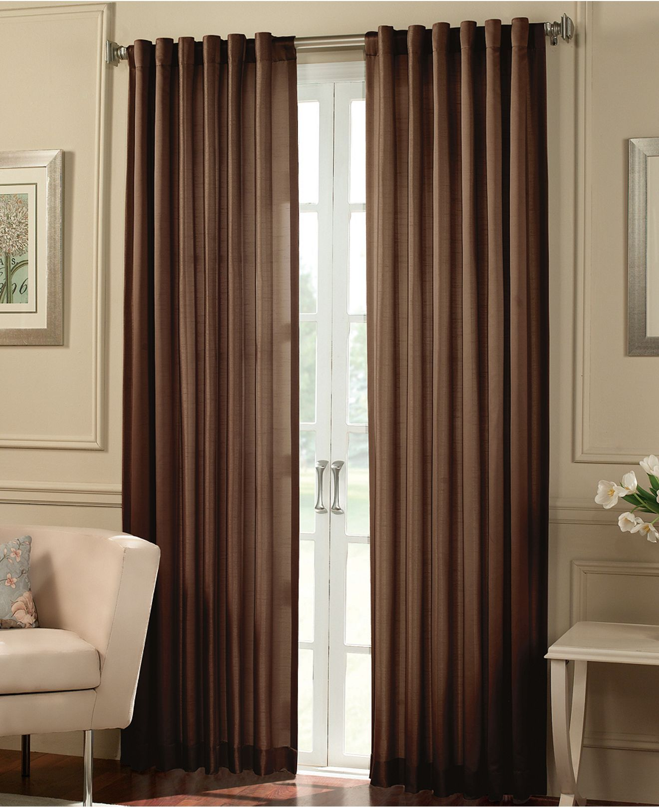 Peri Window Treatments Cooper 50 X 84 Panel Curtains Drapes