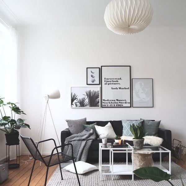 Inspirierend Wandfarbe Seidenglanzend Haus Interieur Ideen: Die Schönsten Wohnaccessoires & Möbel In Grauen Nuancen En