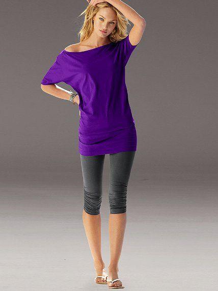 Off-the-shoulder Tunic #VictoriasSecret http://www.victoriassecret.com/clothing/2-for-40-tunics-leggings-and-skirts/off-the-shoulder-tunic?ProductID=110370=OLS?cm_mmc=pinterest-_-product-_-x-_-x