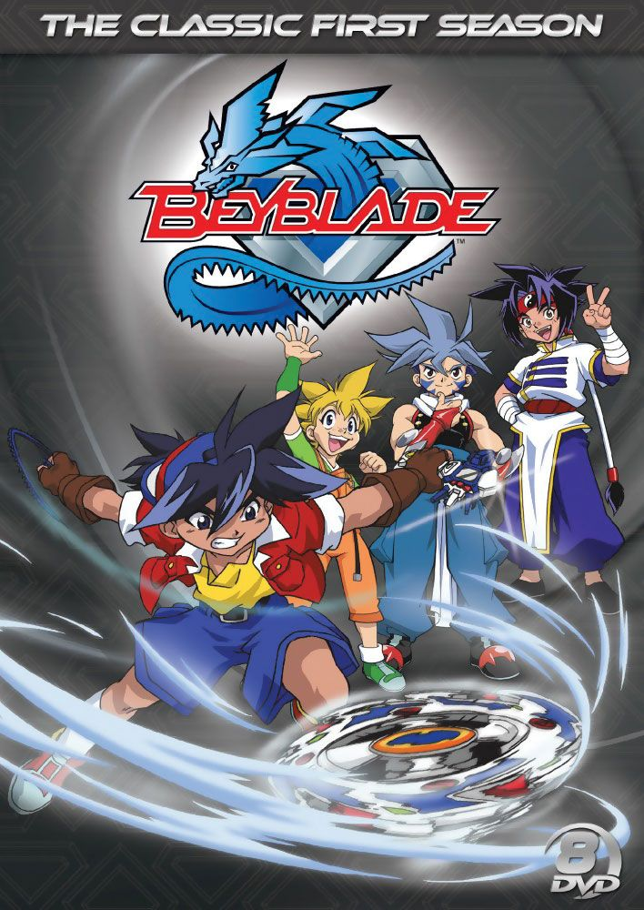 Beyblade Season 1 DVD Complete Collection (D) (Classic)