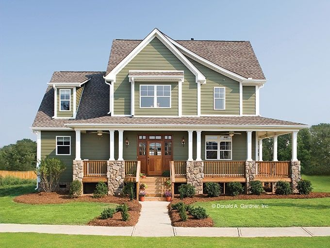 Country Style House Plan 4 Beds 2 5 Baths 2490 Sq Ft Plan 929 19