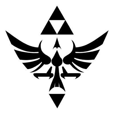 Hylinian Shield Pewter Pendant   Legend of Zelda Hylian Symbol ...