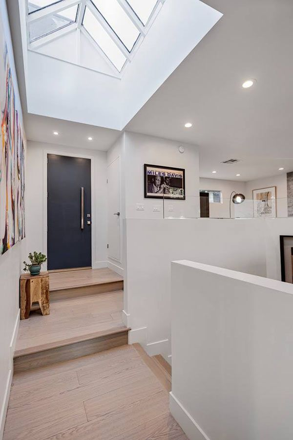 A home in silverlake gets a modern renovation architecture - Modern interior doors los angeles ...