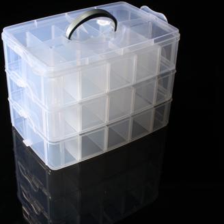 Cuddlebugs Bead Storage Container      Starting bid:$15.00