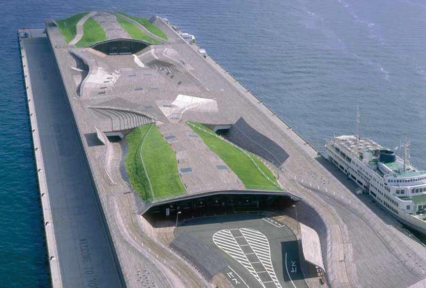 Terminal maritima de yokohama alejandro zaera polo for Arquitectura naval e ingenieria maritima