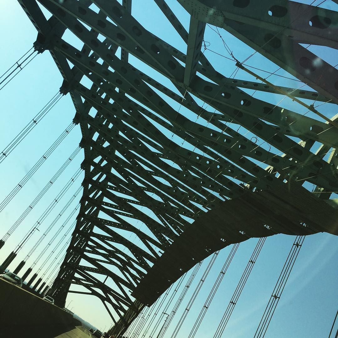 This Bridge... tiny and sweet #easter #travel #pa