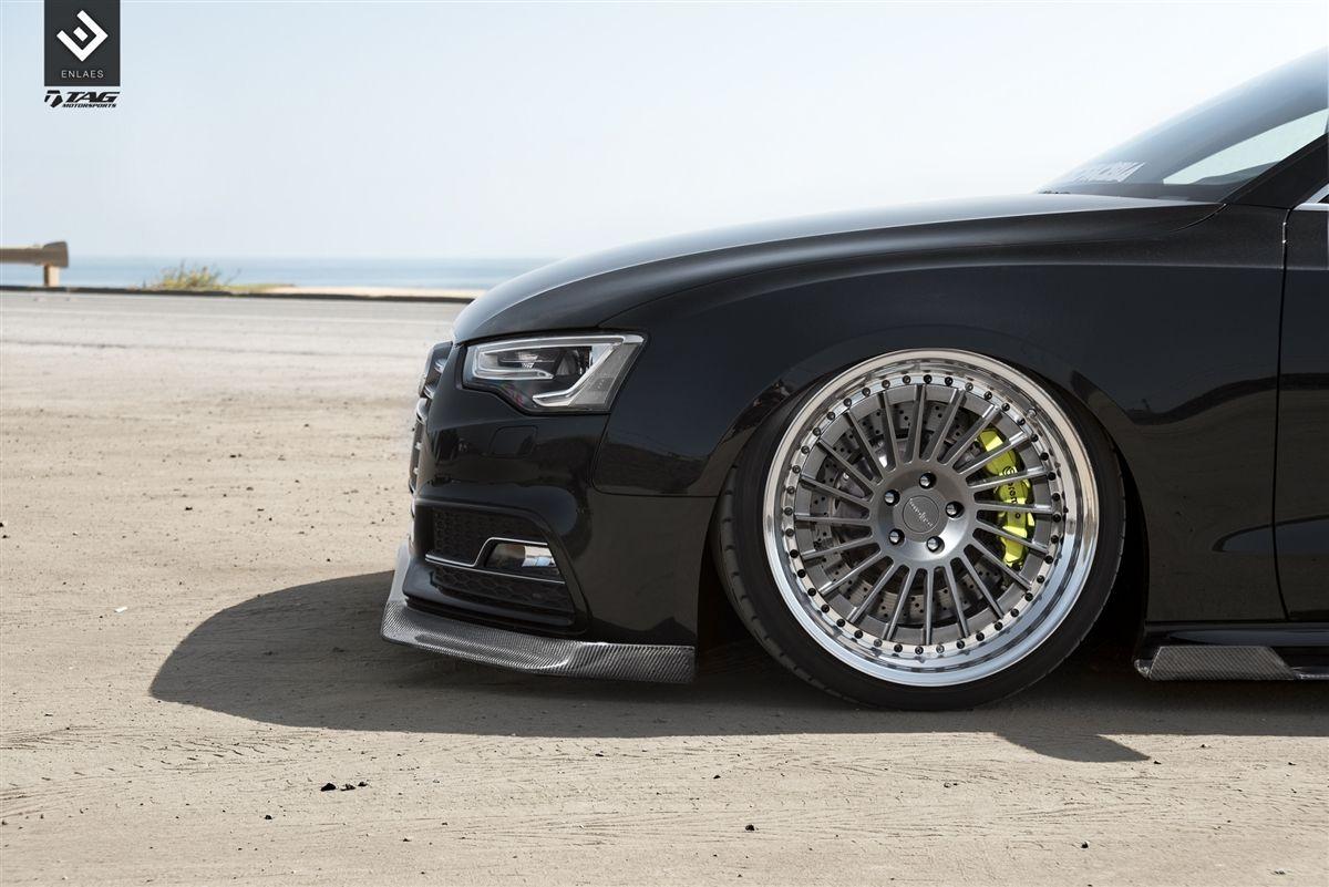 Enlaes Audi B8 B8 5 S5 A5 Side Skirts Carbon Fiber Audi Carbon Fiber Fiberglass