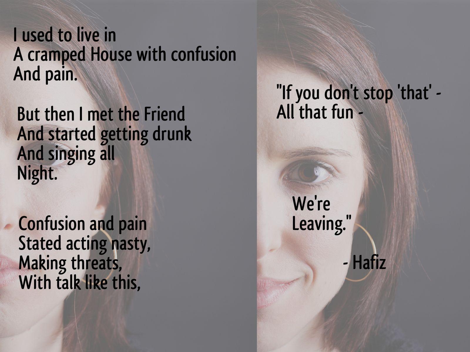 hafiz poems in english - photo #35